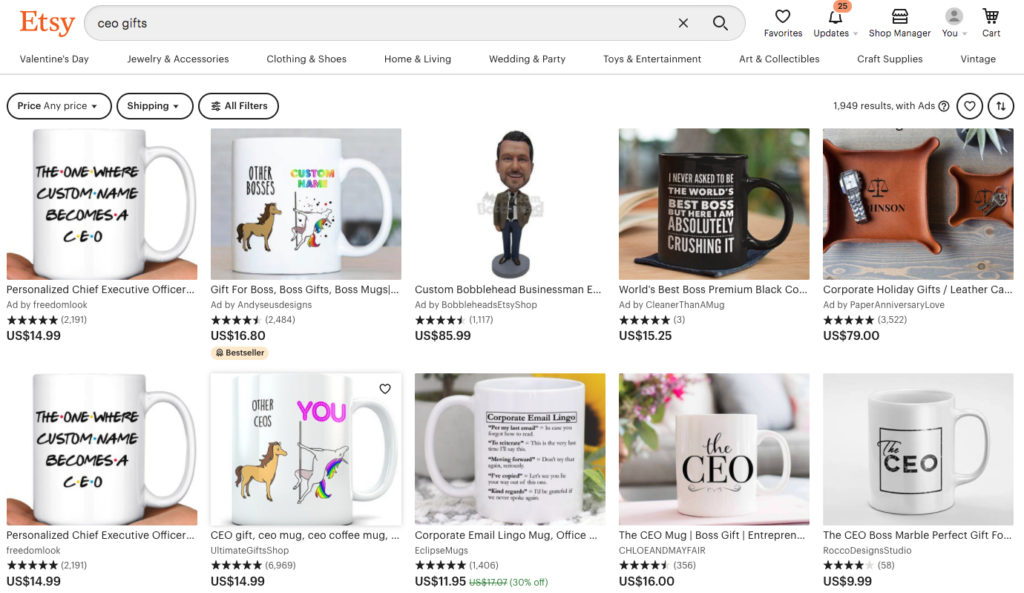 How to get noticed on Etsy with SEO