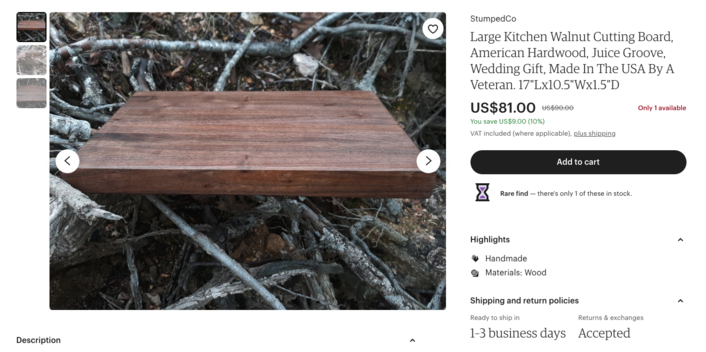 Etsy listing review, how get seen on etsy