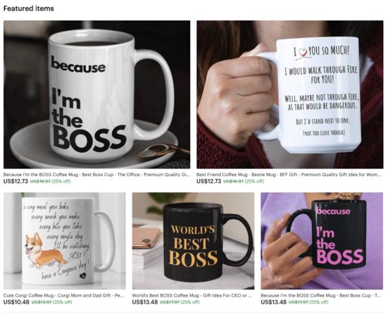 Etsy Shop Critique, POD Etsy SEO